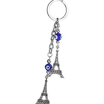 Cristal Papillon Tortue Tour Blue Eye Strass Porte-Clef Sac Pendentif Porte-cl/és Filles Bijoux Porte-cl/és Regard