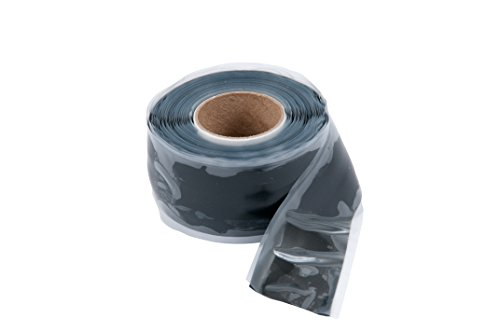 010 Repair Tape All Purpose, Silicone Self-sealing, 1-Inch Wide X 10-Feet Long X 20 mil Thick, Black (All Purpose Silicone Rubber)