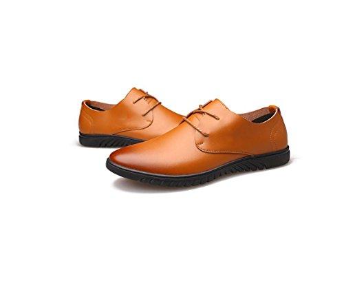 Redondo Los Informales Cuero De Cinta De Yellow Primavera Puntiaguda Deportes Zapatos Hombres Invierno Color Verano Suave De Negocios Otoño 0Wzqtn5Sw