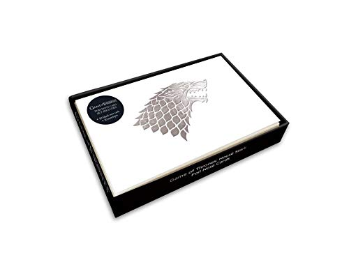 Game of Thrones: House Stark Foil Note Cards (Set of 10)