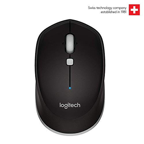 Logitech M337 Wireless Mouse, Bluetooth, 1000 DPI Laser Grade Optical Sensor, 10-Month Battery Life, PC/Mac/Laptop…