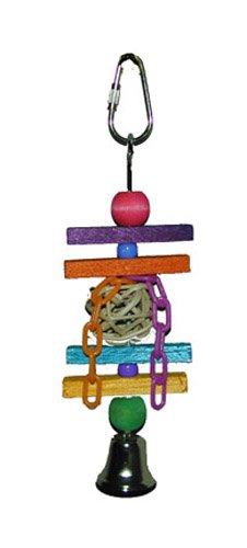 Image of Super Bird Creations 7 by 2-Inch Balsa Munch Bird Toy, Small