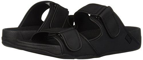 Uk 46 Black Sandals Slide Gogh Neoprene 11½ Fitflop Adjustable Moc nSqwp4KZz