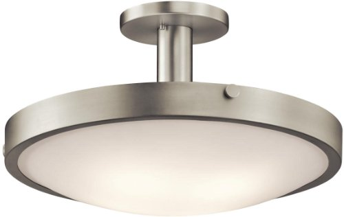 Kichler Lighting 42246NI Lytham 4-Light Semi Flush, Brushed Nickel Finish