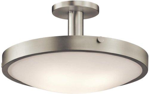 Kichler 42246NI Lytham Semi-Flush 4-Light, Brushed Nickel