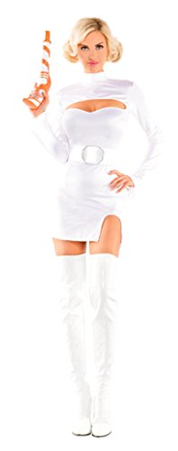 Space Girl Costume - Party King Women's Interstellar Princess Sexy