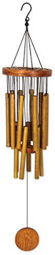 Chime Rod - Sunset Vista Designs Circle Bamboo Wind Chime, 26