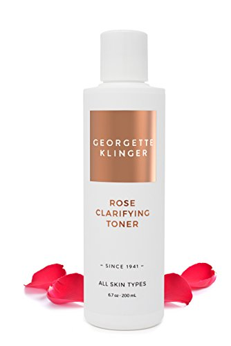 Juice Hydrating Beauty Moisturizer (Georgette Klinger Rose Clarifying Face Toner – Alcohol & Fragrance Free Facial Astringent to Deep Clean, Hydrate and Soften Skin for a Clear, Even Complexion)