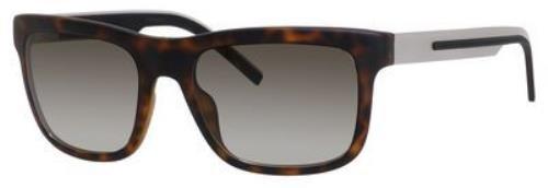 Dior Homme 181S JO5HA Silver and Soft Havana Black Tie 181S Wayfarer - Sunglasses Dior Wayfarer