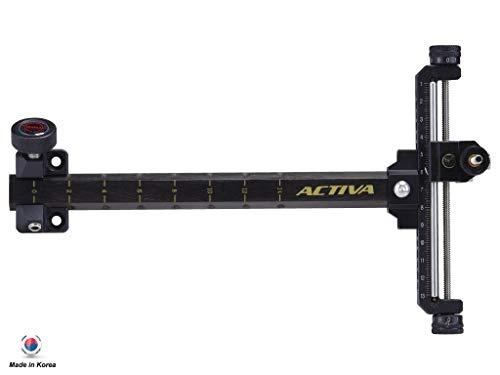 Cartel Activa Aluminum 6061 Frame & 9 inch Premium Carbon Extension Recurve Bow Sight