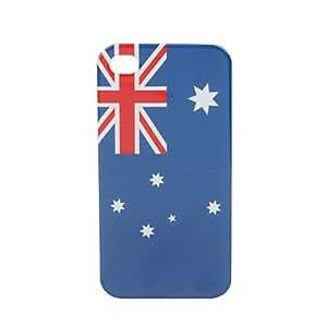 comprar Bandera de Australia estuche duro de protección de vuelta para el iPhone de 4