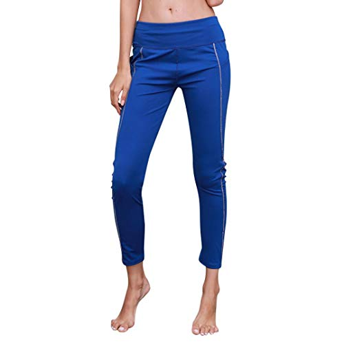 - BODOAO Women Reflective Yoga Pants Sport Gym Skinny Leggings Fitness Trousers