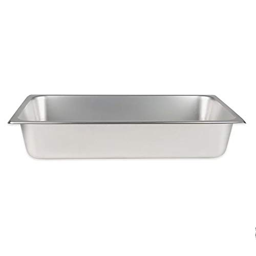 TigerChef TC-20202 Standard Stainless Steel Steam Table Pan, 4