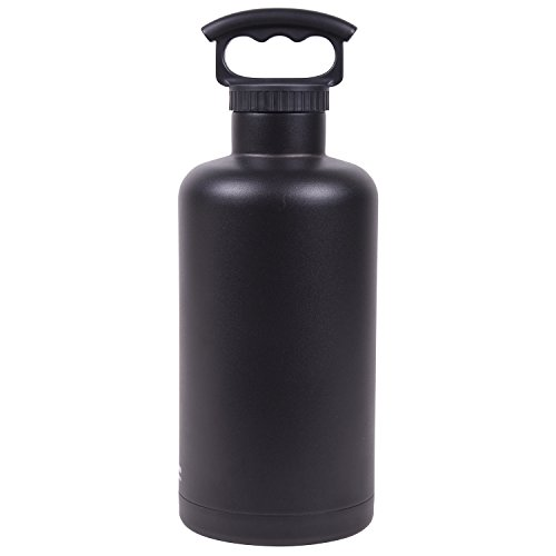 Fifty/Fifty Black Vacuum-Insulated Stainless Steel