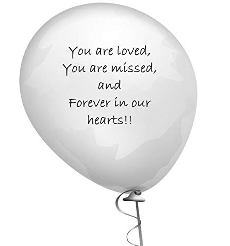 Celebration of Life Remembrance Memorial Funeral Balloons Sympathy Helium Balloons 3.2 Grams 25 pc