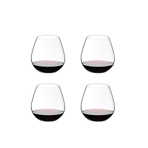 Nebbiolo Glass - Riedel O Stemless Pinot/Nebbiolo Wine Glass, Set of 4