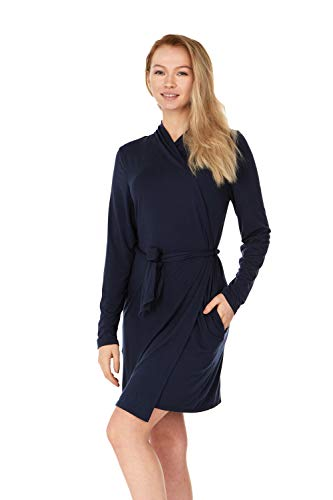 X America Junior and Plus Size Robes for Women with Pockets and Belt 10+ Colors! (2X Plus Size, ()