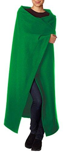 G12900 Gildan Dryblend Fleece Stadium Blanket, Irish Green, One Size