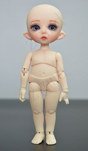 (Zgmd 1/8 BJD Doll Ball Jointed Doll Big Eyes Girl With Face Make Up)