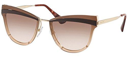 Prada PR12US KOF0A6 Pale Gold/Antique Pink PR12US Cats Eyes Sunglasses Lens C ()