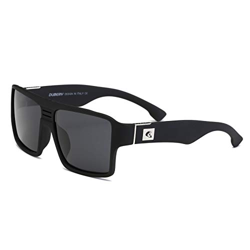 85cdf6391a9d DUBERY Men Polarized Sunglasses Outdoor Driving Square Sport Fashion Glasses
