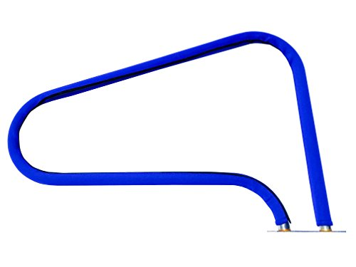 Fibropool Swimming Pool Hand Rail Cover (10 feet, Royal Blue) - Royal Blue Pool