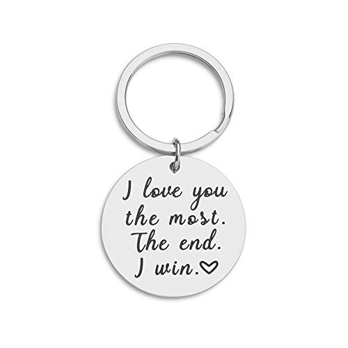 Couple Key Chain Gifts for Him Her-Husband for