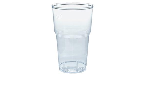 BioWare Vasos Desechables biodegradables y compostables 400 ML ...