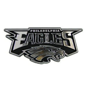 Team ProMark NFL Philadelphia Eagles Chrome Automobile Emble