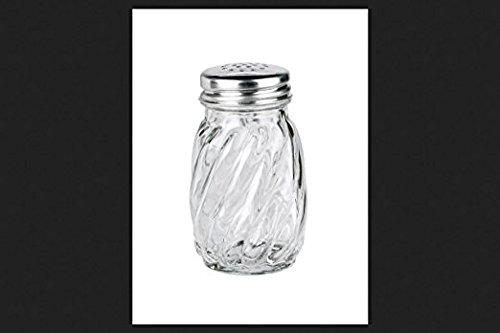 7 6cm Swirl Salt Pepper