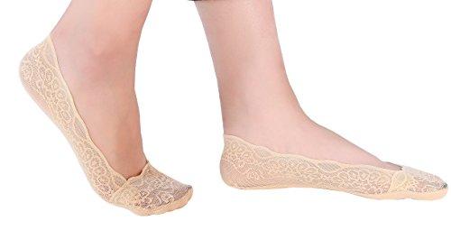 Women Liner Cotton Bottom Socks