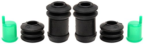 ACDelco 18K1418 Professional Rear Disc Brake Caliper Rubber Bushing Kit with Boots, Seals, and Caps