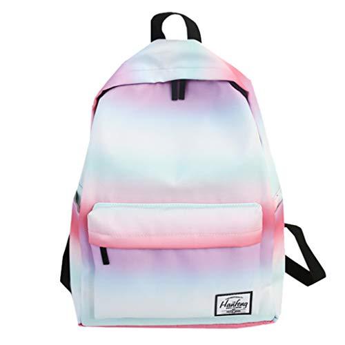 SUNyongsh Women's Fashion Gradient Color Shoulder Bag Jelly Messenger Bag Solid Color Handbag