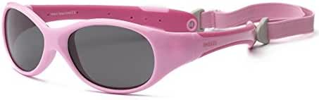 Real Kids Shades Baby Girls' Explorer Polarized (Toddler) - Aqua/Pink