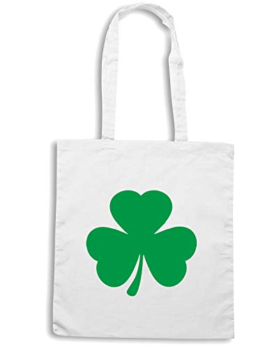 Bianca Shopper IRISH TIR0061 Borsa GREEN SHAMROCK 1ZqWzS