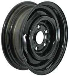 eCustomRim Conventional Steel Trailer Wheel Rim Black 15x6 5 Hole 4.5 in. Circle 15x6 in.