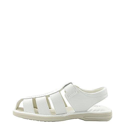 3acdc81acd31 hot sale Faranzi - Men s White Fisherman Sandals - appleshack.com.au