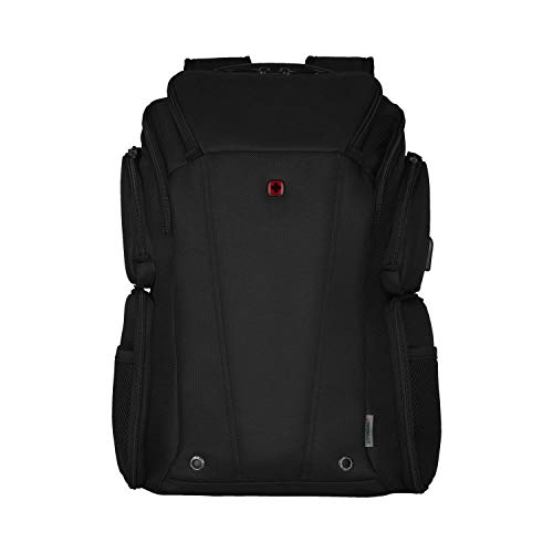 """Wenger 610186 BC CLASS 14""""-16"""" Laptop Backpack, RFID protection pocket and SmartCharge USB port in Black {29 Litres}"""