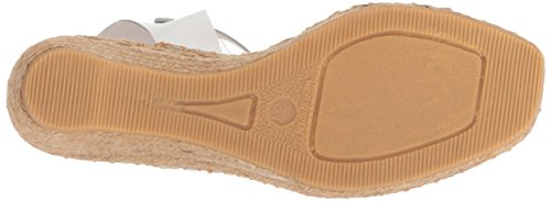 White Espadrille André Women's Wedge Assous Camila Sandal aTn7468n