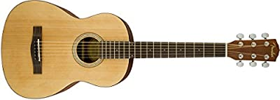 Fender FA-15 Steel String 3/4 Scale Acoustic Guitar - Rosewood Fingerboard - With Gig Bag from Fender Musical Instruments Corp.