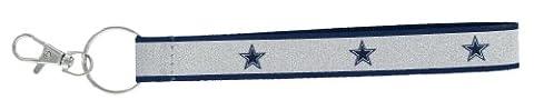 NFL Dallas Cowboys Sparkle Wristlet Key Ring - Nfl Key Ring