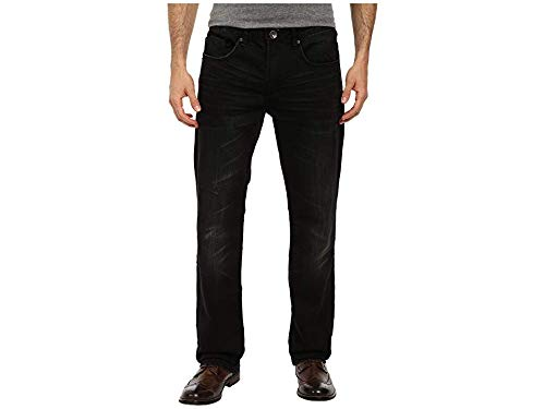 Buffalo David Bitton Men's Torpedo Stretch Twill in Charcoal Charcoal 30 34 ()