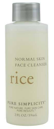 Bath & Body Works Pure Simplicity Rice Face Cleanser for Normal Skin Travel-Size 2 fl oz (59 ml)