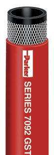 Parker Hydraulic Hose (Parker 7092-38300 General Purpose GST II Red Hose 3/8 Inch ID 300 PSI)