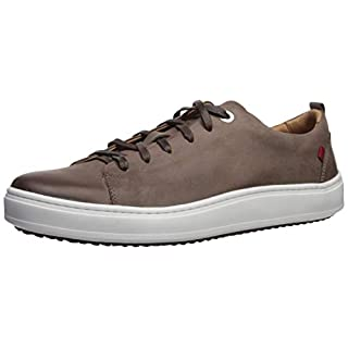 Marc Joseph New York Mens Genuine leather Made in Brazil Union Square Sneaker, Brown Washed Nappa, 10.5 M US