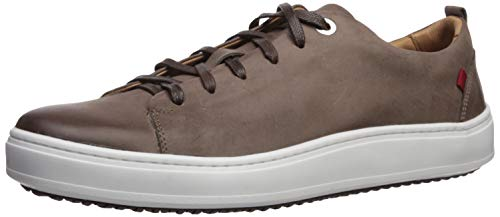 Marc Joseph New York Mens Genuine leather Made in Brazil Union Square Sneaker, Brown Washed Nappa, 9.5 M US
