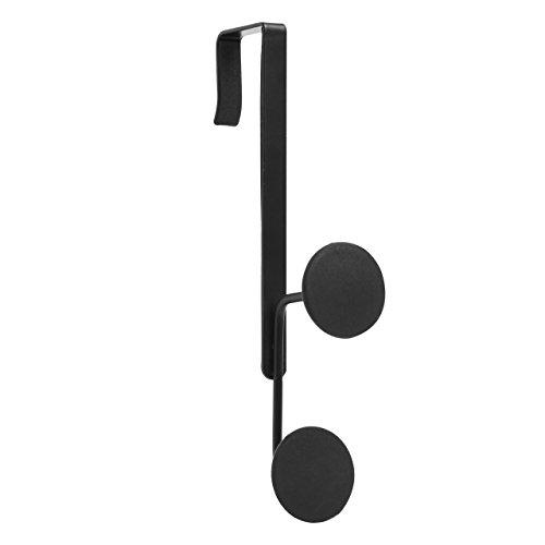 Door Multi Hook (Umbra Yook Double Over-The-Door Hook, Black)