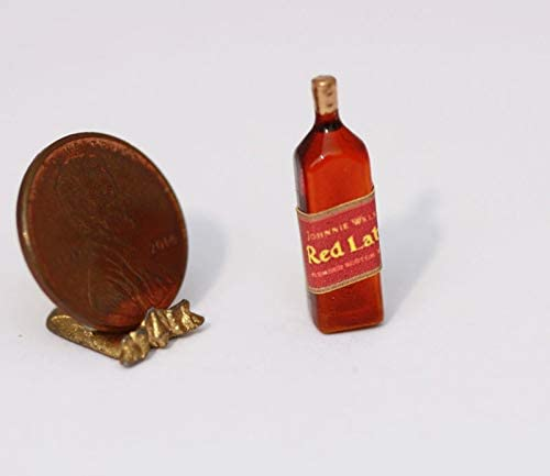 *hudson River Miniatures Dollhouse Miniature Bottle of Blended Scotch Whisky