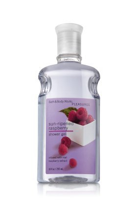 Bath & Body Works Sun Ripened Raspberry Shower Gel 10oz