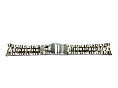 Seikoデュアルトーン19 mm Watchブレスレットsdw706  B074JJLGXY